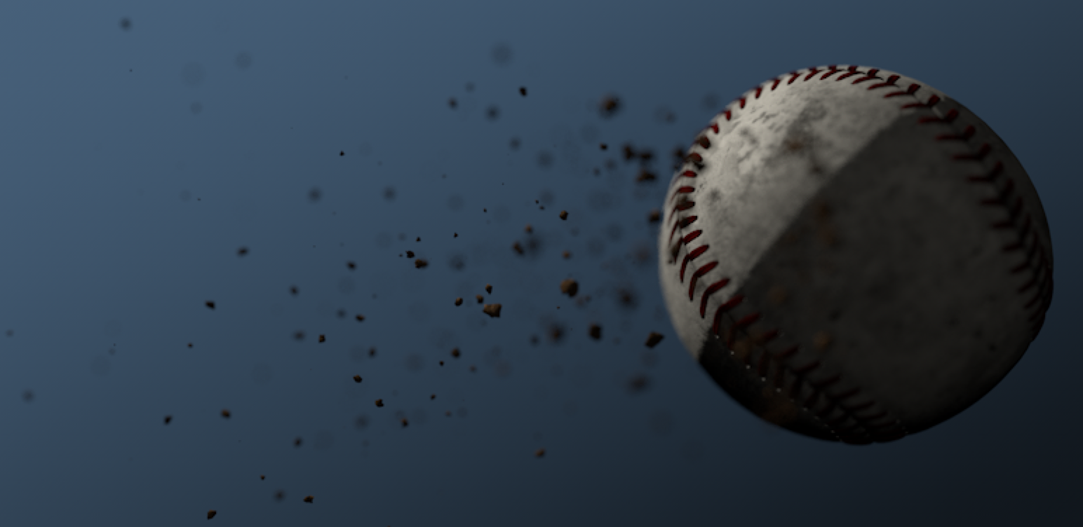 Cinema 4D: Baseball Texture